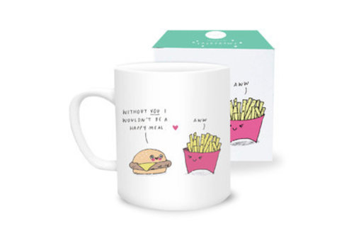 Sask Draws Mug - Happy Meal