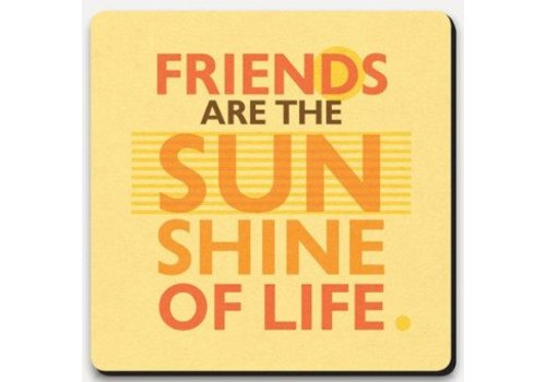 Coaster Lettered - Sunshine of Life