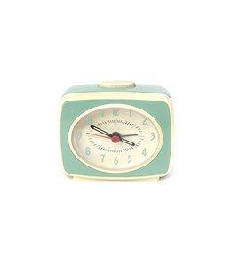 Kikkerland Small classic alarm clock mint