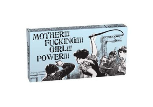 Cortina Kauwgom - Mother fucking girl power