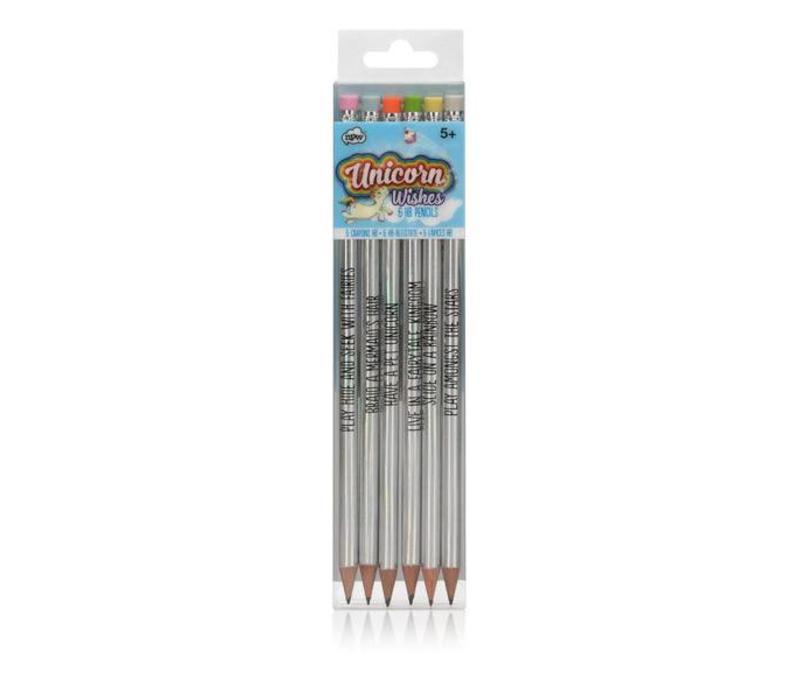 Unicorn Holographic pencils