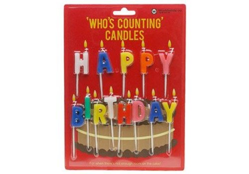 Cortina Happy Birthday - Who's counting candles