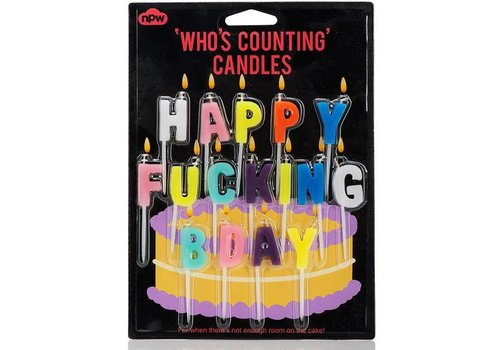 Cortina Happy Fucking Bday - Who's counting candles