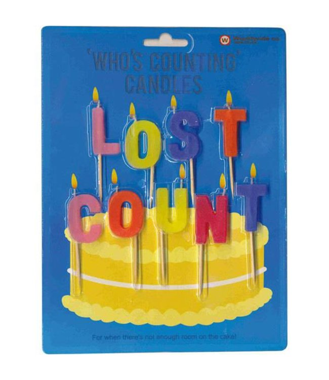 Cortina Lost count - Who's counting candles
