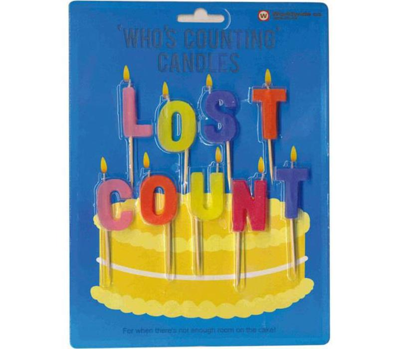 Lost count - Who's counting candles