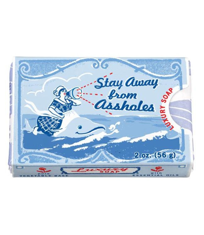 Cortina Soap - Stay away from assholes