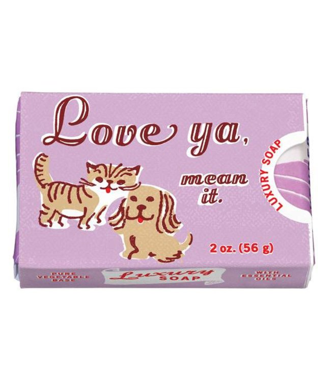 Cortina Soap - Love ya mean it
