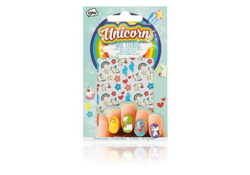 Cortina Unicorn nail sticker