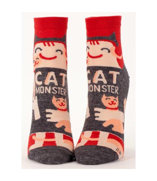 Cortina Ankle Socks - Cat monster