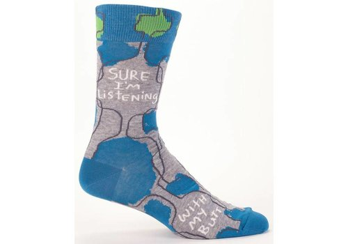 Cortina Men Socks - Sure I'm listening