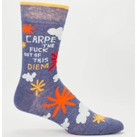 Men Socks - Carpe the fuck out of this diem