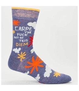 Cortina Men Socks - Carpe the fuck out of this diem