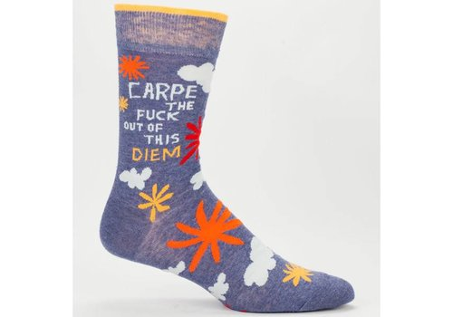 Cortina Men Socks - Carpe the fuck out of this diem