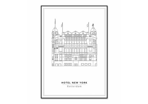 Cityprints Hotel New York 50x70cm
