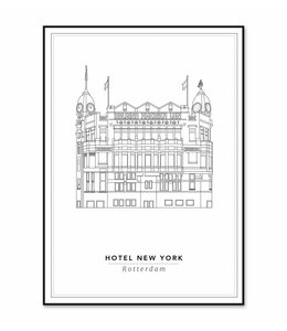 Cityprints Hotel New York 30x40cm