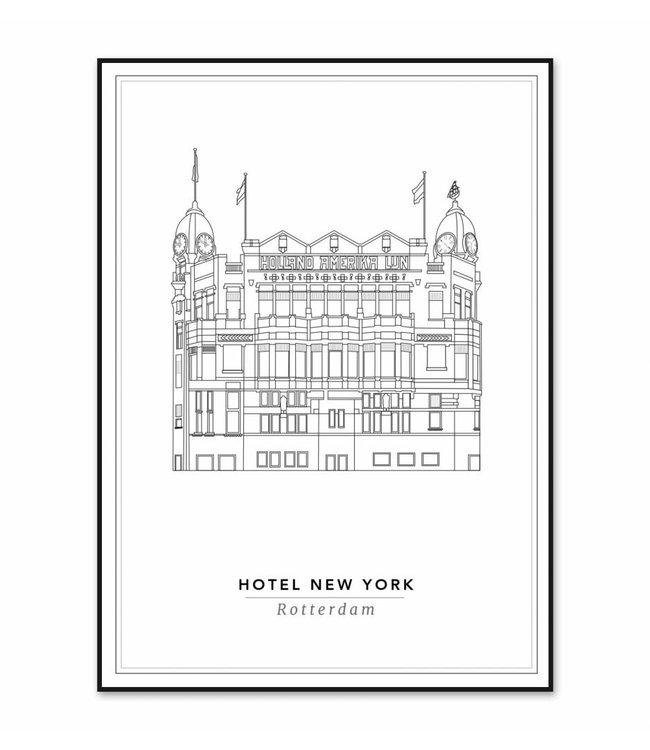Cityprints Hotel New York 30x40cm