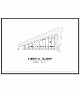 Cityprints Centraal station 30x40cm