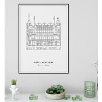 Hotel New York 50x70cm