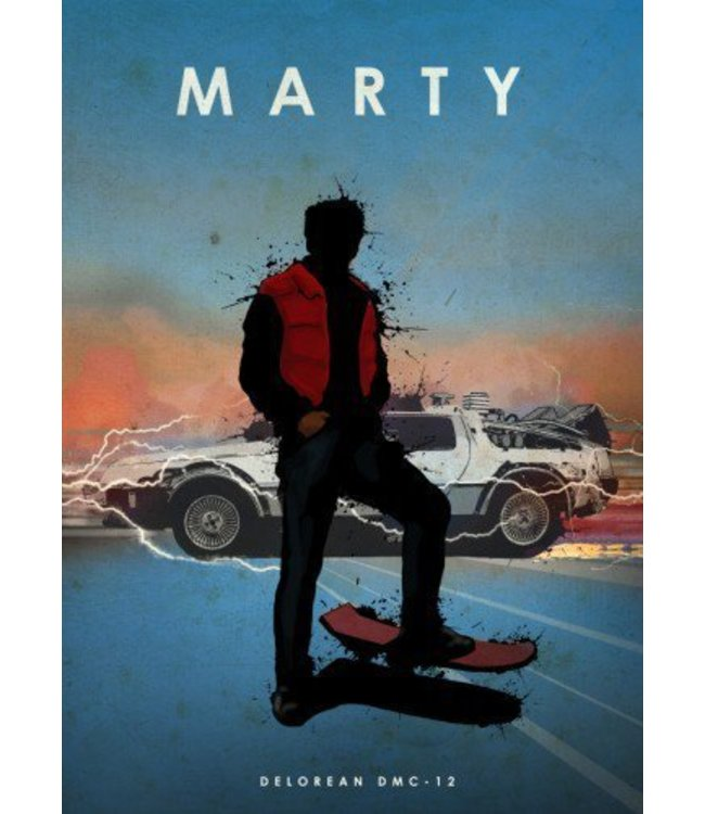 Displate Marty 10x15cm