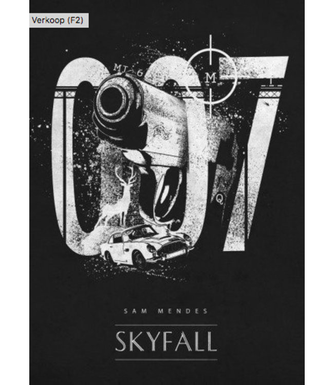 Displate Skyfall 007 10x15cm