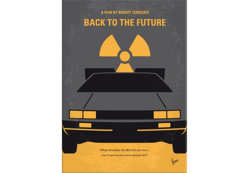 Displate Back to the Future 10x15cm