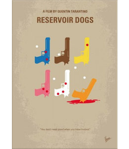 Displate Reservoir dogs 10x15cm