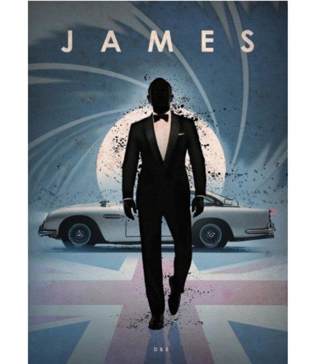 Displate James Bond 32x45cm