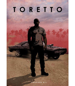 Displate Toretto 32x45cm