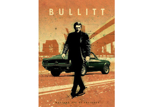 Displate Bullitt 32x45cm