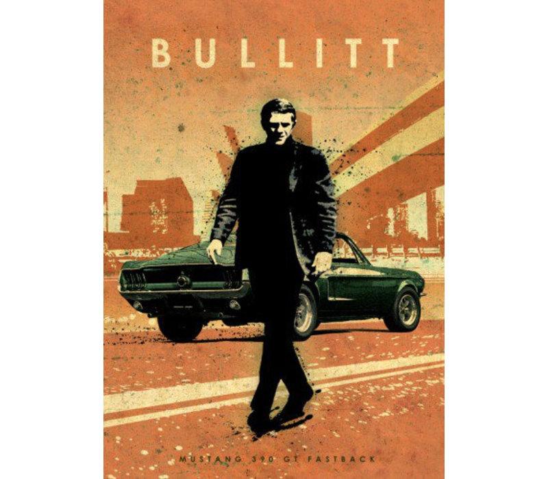 Bullitt 32x45cm