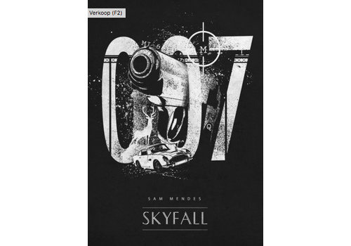 Displate Skyfall 007 32x45cm