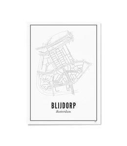 Wijck Poster Blijdorp 50x70