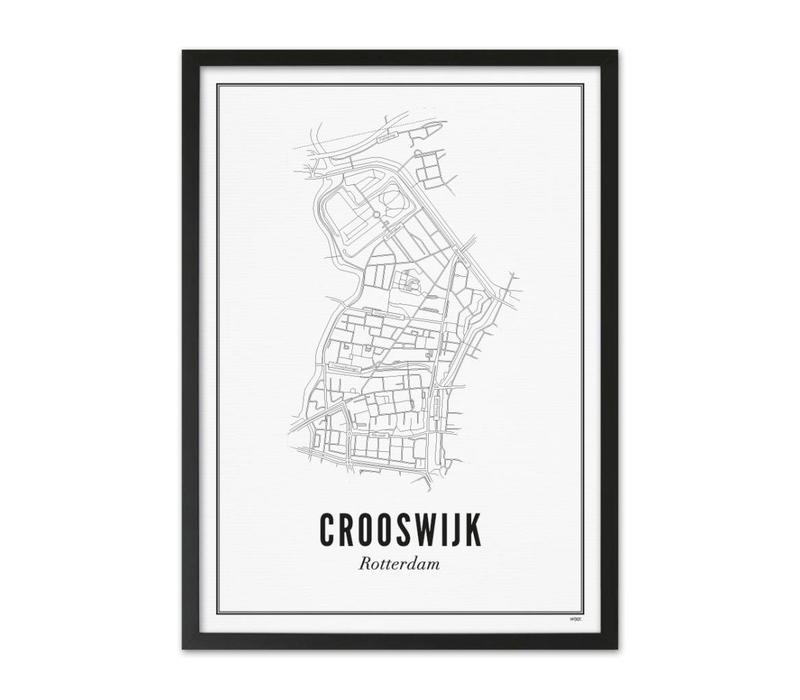 Poster Crooswijk 50x70