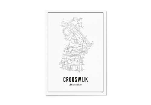 Wijck A4 Poster Crooswijk