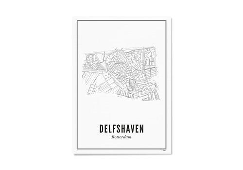 Wijck Poster Delfshaven 50x70