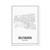 A4 Poster Delfshaven