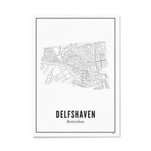 Wijck A4 Poster Delfshaven