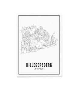 Wijck 30x40 Poster Hillegersberg