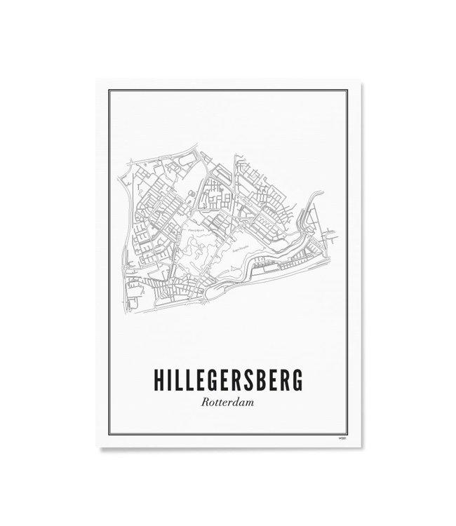 Wijck A4 Poster Hillegersberg