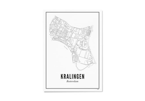 Wijck Poster Kralingen 50x70