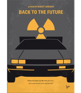 Displate Back to the Future 32x45cm