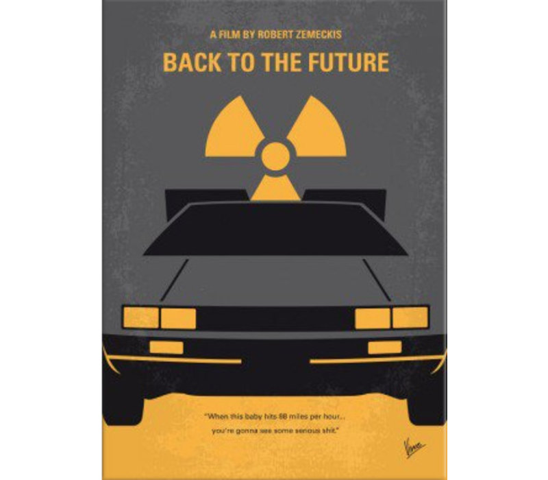 Back to the Future 32x45cm