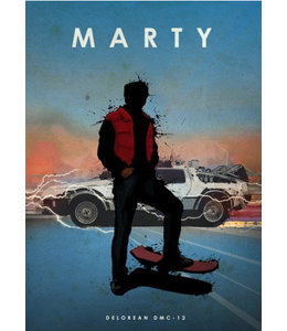 Displate Marty 48x67cm
