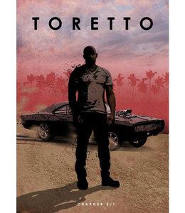 Displate Toretto 48x67cm