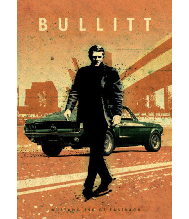 Displate Bullitt 48x67cm