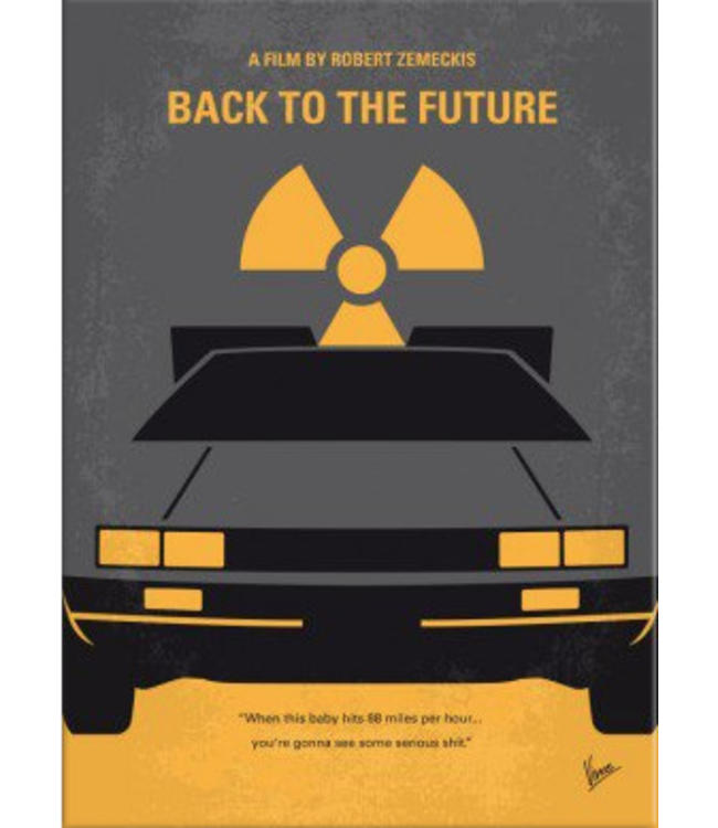 Displate Back to the Future 48x67cm