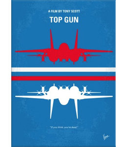 Displate Top Gun 48x67cm