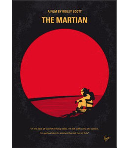 Displate The Martian 48x67cm