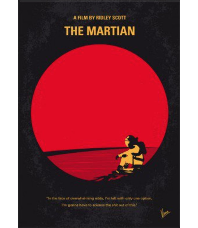 Displate The Martian 48x67cm