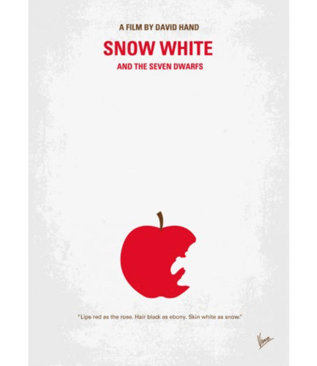 Displate Snow White 10x15cm